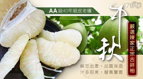 【夢饗家】嚴選陳家正宗麻豆文旦(5斤/箱)