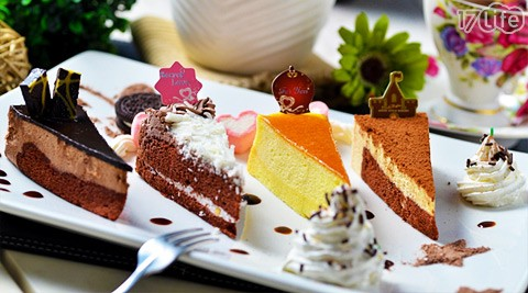 (a)双人下午茶套餐:精选蛋糕拼盘/脆薯拼盘(2选1) 店内饮品任选2/(b)
