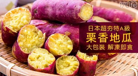日本熱17life 商家 系統銷特AA級栗香地瓜