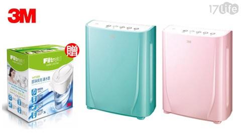 只要6,480元(含運)即可享有【3M】原價7,490元淨呼吸寶寶專用型空氣清淨機(FA-B90DC)一台,顏色:馬卡龍綠/棉花糖粉,保固一年,加贈【3M】濾水壺一入。