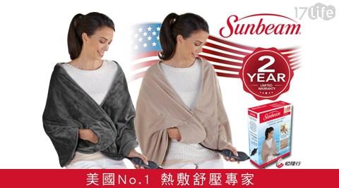 【美國Sunbeam】/柔毛/披蓋式/電熱毯