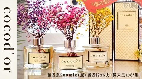 Cocodor/花束精油擴香瓶/花束/精油/擴香瓶/香氛/擺飾