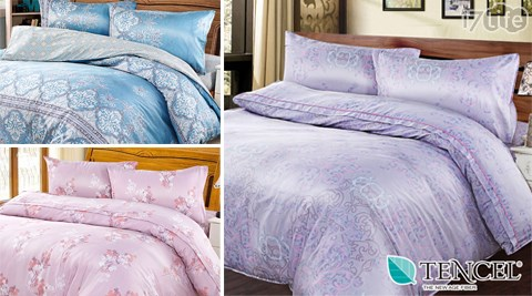 【BORIS】天絲床包組系列/BORIS/天絲/床包組/床單/床罩/枕套/被套/兩用被/涼被