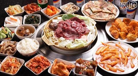 鏡江韓式無煙銅烤/鏡江/韓式/海鮮煎餅/銅烤/雞湯