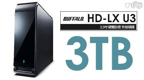 Buffalo /LX3.0TU3 /LX 3TB /7200轉/ 3.5吋/外接硬碟