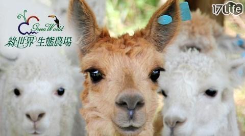 綠世界生態農場/綠世界/農場/生態/親子/暑假/動物園