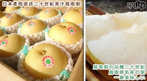平均每顆最低只要115元起(含運)即可購得日本產地直送-二十世紀多汁鳥取梨12顆/14顆/36顆(12顆/箱)。