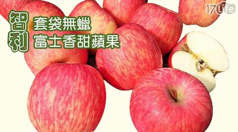 平均最低只要19元起(含運)即可享有智利進口套袋無蠟富士香甜蘋果平均最低只要19元起(含運)即可享有智利進口套袋無蠟富士香甜蘋果:22粒/44粒/88粒(22粒/盒)。