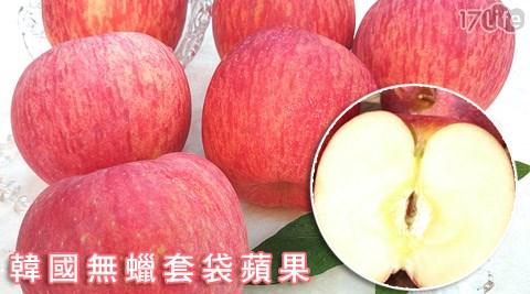 韓國無蠟套袋蘋果