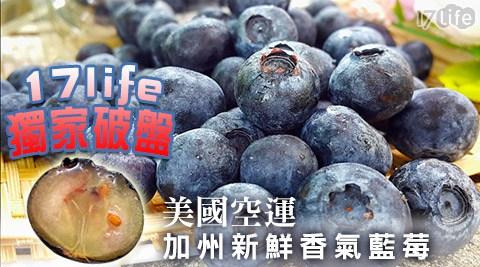 平均最低只要90元起(含運)即可享有美國空運加州新鮮香氣藍莓(125g±10%/盒):6盒/12盒/20盒。