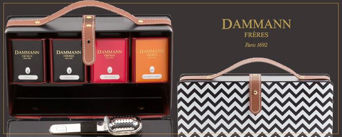 法國 Dammann Frères-紅美麗禮盒/金屬手提箱BLUES禮盒 巴黎薘蔓百年茶情,天然草本果物細緻芬芳,時尚現代飲茶之藝,味遊歐洲經典風格茶品!