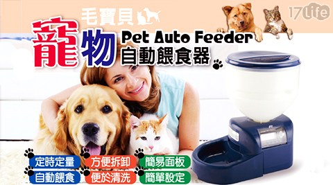Pet Aloooha/自動/寵物/餵食器/貓/狗