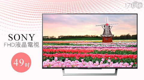 SONY/49吋/FHD液晶電視/ KDL-49W750D