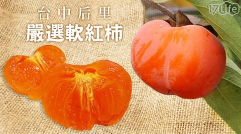 台中后里嚴選軟紅柿/紅柿子/紅柿/柿子/軟柿子/軟紅柿/柿