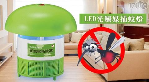 滅蚊先鋒-LED光觸媒捕蚊燈