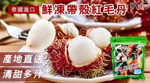 泰國進口鮮凍帶殼紅毛丹
