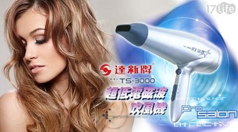 只要699元(含運)即可享有【達新牌】原價1,290元吹風機(TS-3000)1台,顏色:鐵灰,享1年保固!