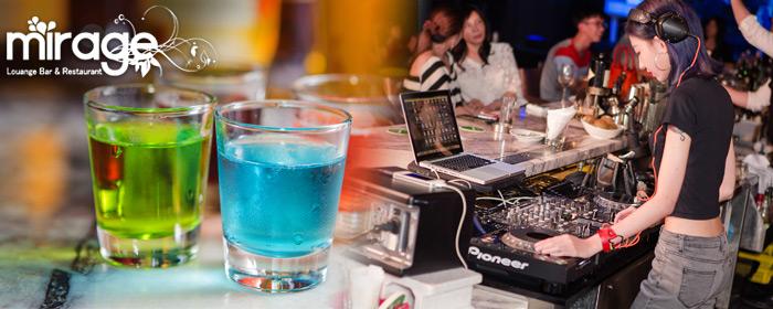 Mirage lounge -微醺專案 微醺迷離夜,身處極度浪漫的高空氛圍,專業調酒師調配個人調酒,小酌狂歡盡情享受黑夜