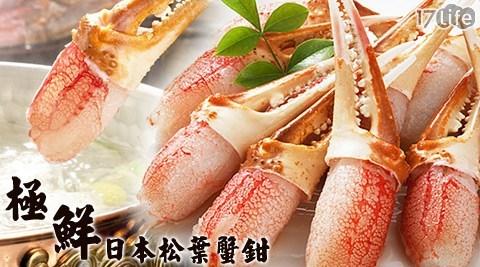 平均每隻最低只要9元起(含運)即可購得嚴選極鮮日本三大名蟹松葉蟹鉗20隻/40隻/80隻/160隻/240隻/360隻(20隻/包;10~15g/隻,包冰率10%)。