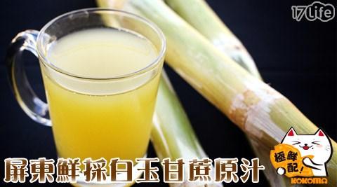 極鮮配/甘蔗汁/冷壓/甘蔗