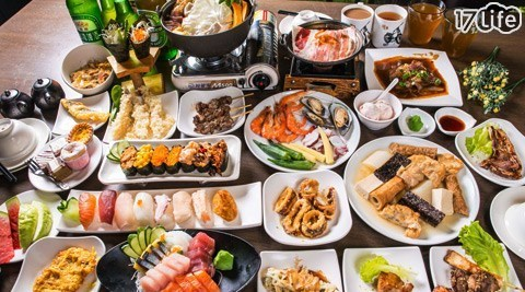 日式料理/吃到飽/淺野日式饗宴/生魚片/握壽司/壽喜燒