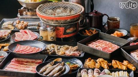 烤肉趣炭火燒肉/燒烤/烤肉/海鮮/豬五花/骰子牛/柳葉魚/椒麻雞腿