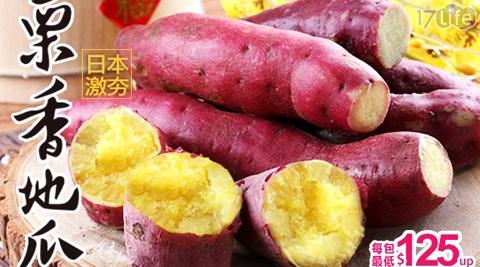 日本激夯紅皮栗香地瓜
