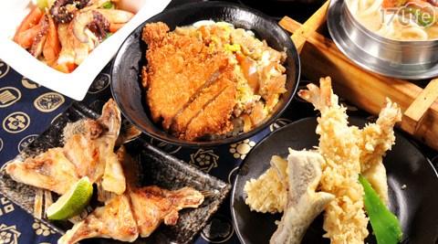 多本多日式料理/豬排丼/親子丼/鮭魚泡飯/天婦羅/炒烏龍麵