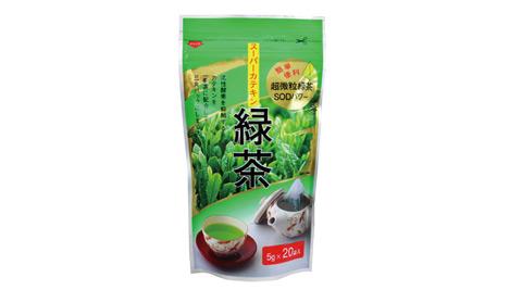 袋布向綠茶100G