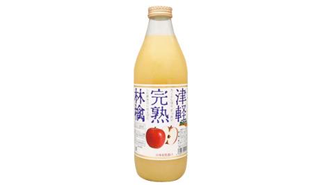 nora瓶裝津輕完熟蘋果汁1L