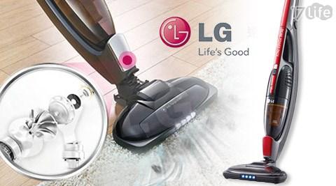 LG /樂金/ CORDZERO/手持/直立式/2合1/無線/吸塵器/VS8401SCW
