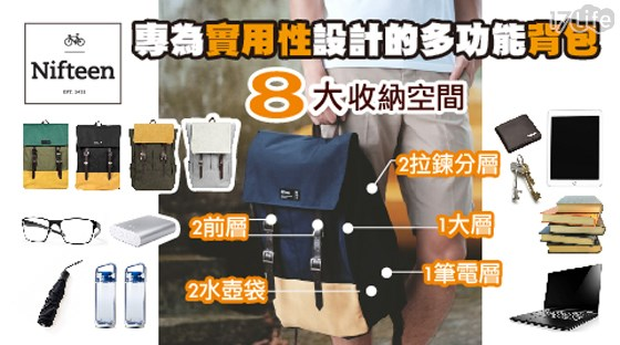 【NIFTEEN 】 MEDIC BOY 多功能雙扣部隊後背包
