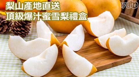 梨山/產地/直送/頂級/爆汁/蜜/雪梨/禮盒/水果/伴手禮