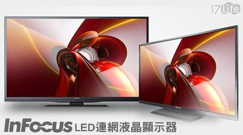 InFocus鴻海-17life 退 費LED連網液晶顯示器