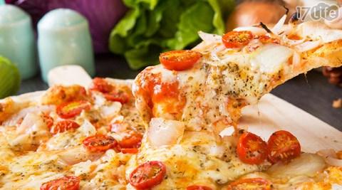 只要175元即可享有【AD義大利餐館】原價220元熱銷義式10吋薄皮PIZZA只要175元即可享有【AD義大利餐館】原價220元熱銷義式10吋薄皮PIZZA:德式香腸比薩/拿坡里番茄比薩/鮮蔬野菇比薩/重乳酪番茄比薩/野菇豬培根比薩/泡菜牛培根比薩/野菜雞肉比薩(7選1)。