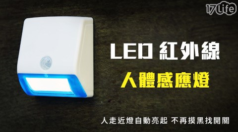 平均每入最低只要133元起(含運)即可享有省電達人LED紅外線人體感應燈3入/6入/12入/24入(3入/組)。