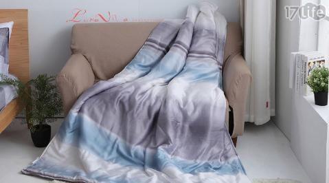 【Luna Vita】台灣製造 純棉 活性環保印染 透氣涼被-150x195cm(8款可選)/純棉/活性環保印染/透氣涼被/涼被/透氣/活性印染/印染/被/床單