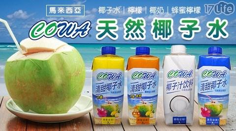 中元/普渡/拜拜/椰奶/蜂蜜/椰子水/檸檬椰子水/cowa/進口/電解質/飲料/飲品/消暑/運動/貢品