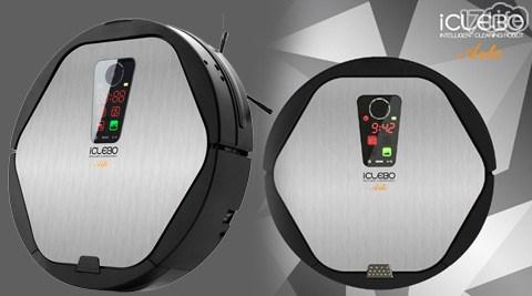 只要14,800元(含運)即可享有【iClebo】原價31,800元Arte銀爵鷹眼導航掃地機器人(福利品)1入。