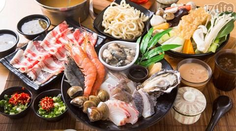 鍋子海鮮鍋物/鍋子/海鮮/火鍋/豐原/天使蝦/白蝦/鮮蚵/蛤蠣/鱸魚/鯛魚/生蠔/軟絲