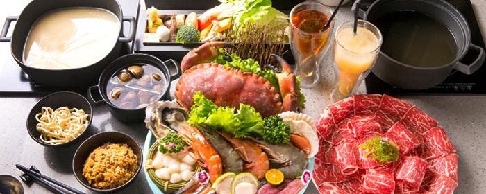 肉魂和牛鑄鐵料理-雙人肉魂經典套餐 特選9+級以上和牛,海洋帝王級鮮味,鑄鐵鍋傳熱均勻、受熱快,品嚐食材最初的美味