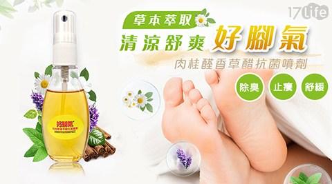 【好腳氣】肉桂醛 香草醋抗菌噴劑/噴劑/足部