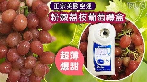 美國/空運/荔枝葡萄/禮盒/水果/葡萄/荔枝/限量/稀有/水果禮盒
