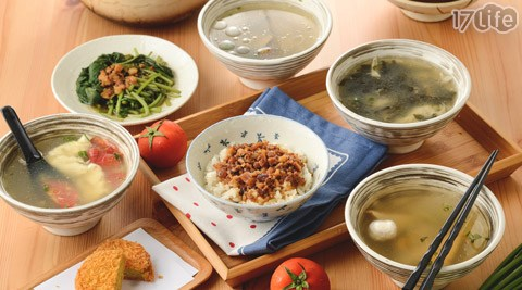 幸福餐桌魯肉飯/魯肉飯/小吃/中式料理/湯/飯/傳統