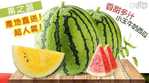 水果/果之蔬/超人氣/香甜/多汁/小玉/牛奶/西瓜/紅肉/黃肉/消化/餐後/新鮮/解渴/飲品/飲料/果汁