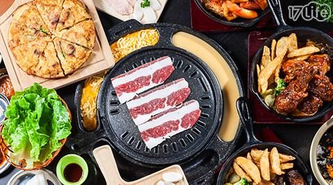 平均每張最低只要264元起即可享【安妞韓國烤肉食堂】全時段通用抵用套券1張/2張/4張/10張,每張可抵用300元。
