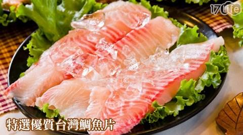 特選/優質/台灣鯛魚片/台灣/鯛魚片/鯛魚/魚片/海鮮/冷凍