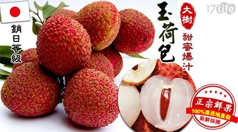 高雄/大樹/甜度19/銷日/爆汁/剪枝粒果玉荷包/玉荷包/水果/荔枝