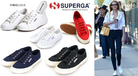 SUPERGA-義大利國民經典款厚底款帆布鞋