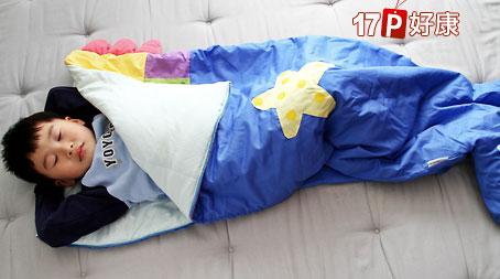 baby童装生活馆】原价999元可爱造型儿童睡袋:造型马/美人鱼(2选1).